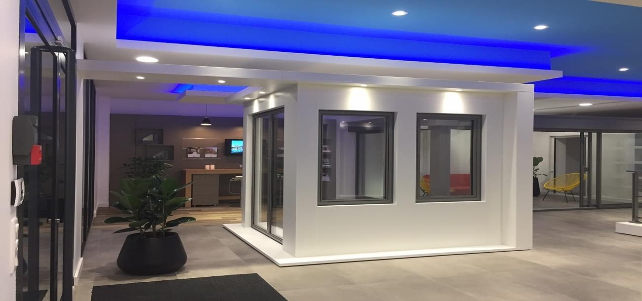 maisons de lumiere by technal 34 fen tre aluminium montpellier. Black Bedroom Furniture Sets. Home Design Ideas